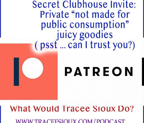 patreon invite tracee sioux